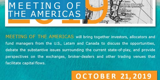Meeting of the Americas 2019 Conference