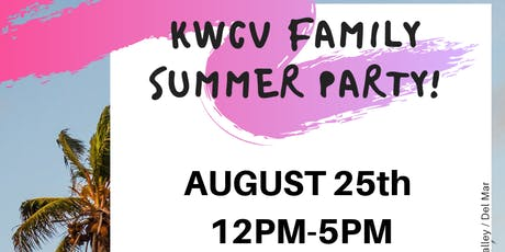 KWCV Summer Family Party tickets