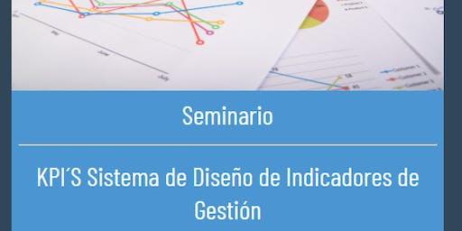 Seminario KPI Diseño de Indicadores de Gestión (8 horas)