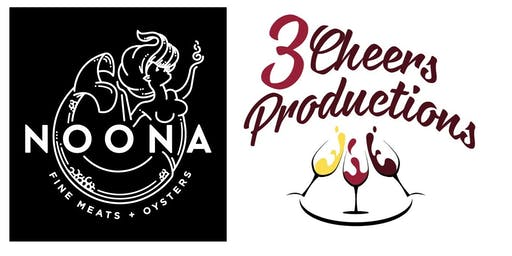 Noona Wine Dinner Deposit - 5 Courses $75 @ Noona in Duluth on Thur 9.19.19