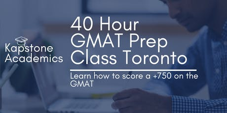 Kapstone Academics: 40 Hour GMAT Prep 4 Weeks on Wednesday and Saturday tickets