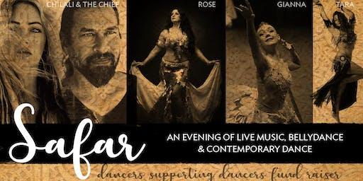 Safar - an evening of Live Music, Bellydance  & Contemporary dance