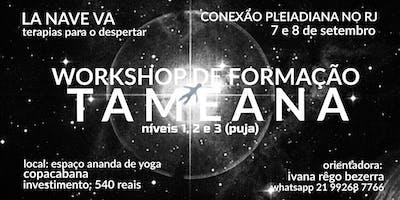 WORKSHOP DE FORMAÇÃO EM TAMEANA