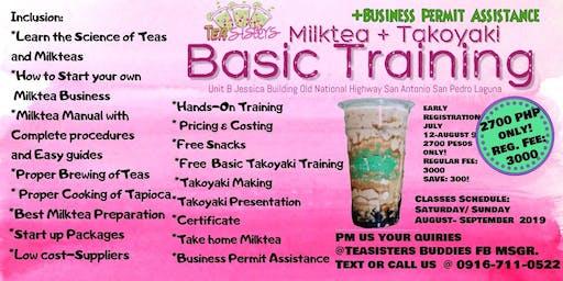 Milktea and takoyaki training