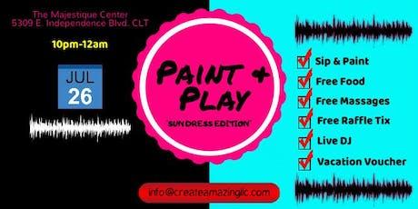 Paint & Play: Sun Dress Edition tickets