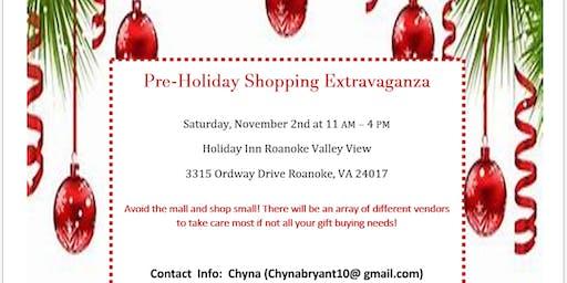 Pre-Holiday Shopping Extravaganza