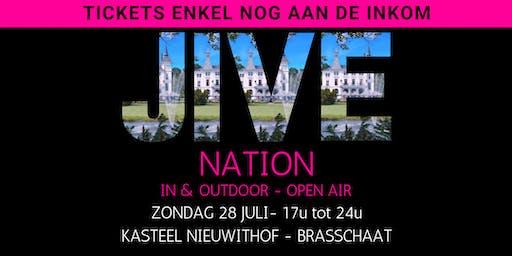 JIVE NATION - OPEN AIR | 28 JULI | Kasteel Nieuwithof - Brasschaat
