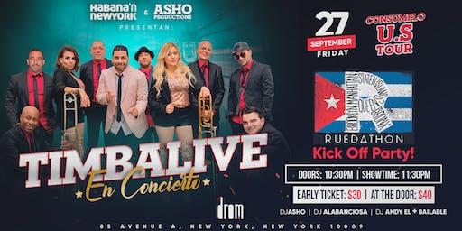 Timbalive en Concierto Exclusivo! Ruedathon Kick Off Party & Concert!