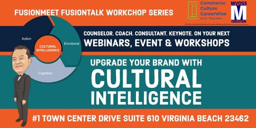 Upgrade your Brand to Life Series 2:  Cultural Intelligence Basic