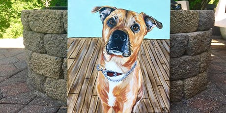 Sip and Paint Night - Paint Your Pet @ Iron Goat Brewing tickets