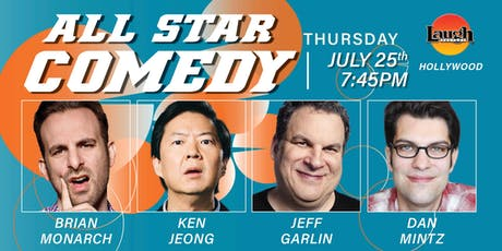 Ken Jeong, Jeff Garlin, and more - All-Star Comedy! tickets