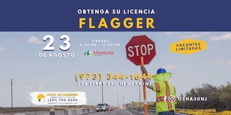 CLASE DE FLAGGER EN ESPANOL - $ 120 tickets