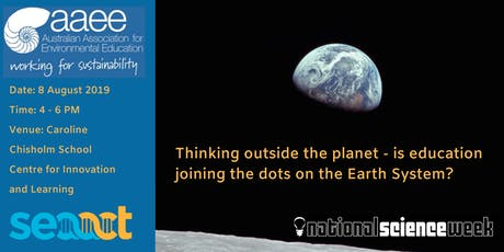 Thinking outside the planet - educators join the dots on our Earth System tickets