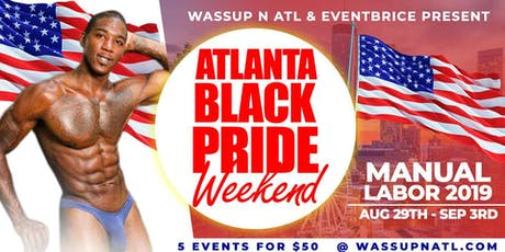 Atlanta Black Pride For Men 2019 tickets