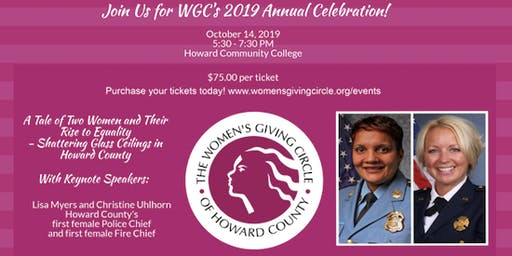 WGC 2019 Annual Celebration: A Tale of Two Women and Their Rise to Equality
