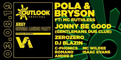 Vanguard presents the Outlook Festival launch Boat & AfterParty feat. Pola & Bryson, MC Ruthless, Jonny Be Good (Gentlemans Dub Club), DJ Blazin (Jungle Set), ZeroZero, Romano, C-Phonics, Andre B. MC Wildee & Isaac Evans tickets