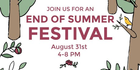 End of Summer Festival at Bryan Park tickets