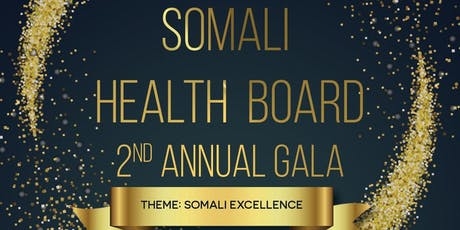 SHB's 2nd Annual Community Gala (Somali Excellence) tickets