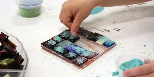 Fusing: Make Your Own Glass Tile! - Open Studios Activity
