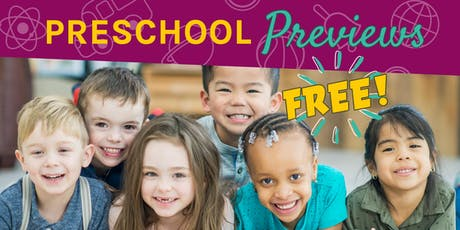 Eastside Preschool Preview- RSVP tickets