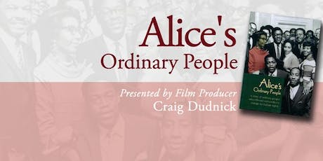Alice's Ordinary People: Screening tickets