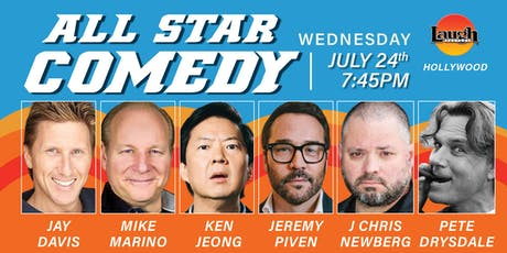 Ken Jeong, Jeremy Piven, and more - All-Star Comedy! tickets