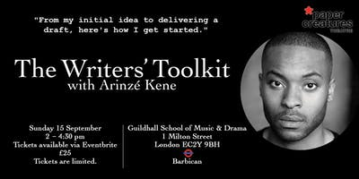 The Writers' Toolkit with Arinzé Kene