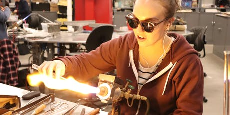 Flameworking: Make Your Own Glass Straw! - Open Studios Activity tickets
