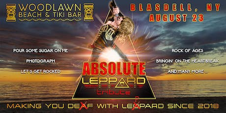 Leppard at Woodlawn Beach Tiki Bar tickets