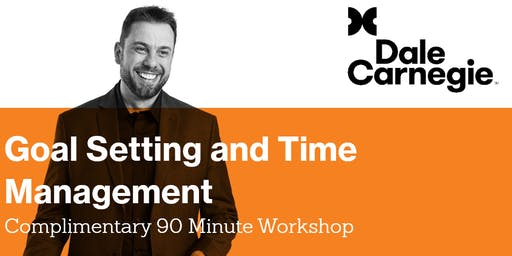 Goal Setting and Time Management Workshop - Toowoomba Workshop