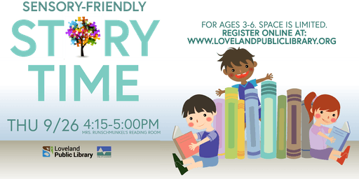 Sensory-friendly Storytime