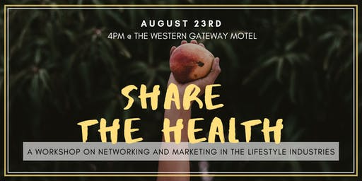 SHARE THE HEALTH - a workshop on networking and marketing