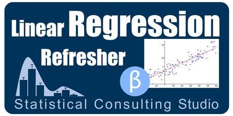 Stat Studio Workshops -Fall 2019, Day 1/7- Review Regression, part 1 tickets