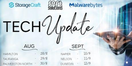 Tech Update - Tauranga tickets