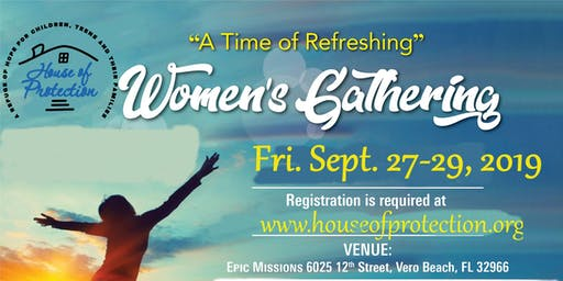"""A Time of Refreshing"" Women's Gathering"