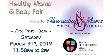 Healthy Mama and Baby Fair  tickets