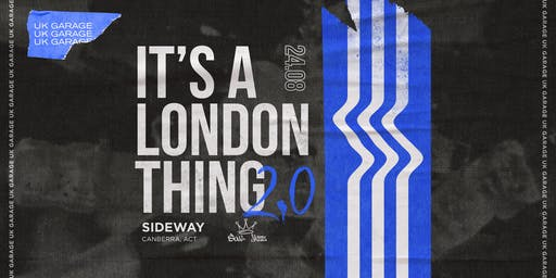 It's A London Thing // UK Garage & Grime // Soul Jazz