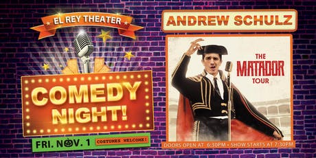 Comedy Night! ft. Andrew Schulz - Chico, CA tickets