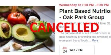 Plant Based Nutrition Movement- Oak Park Group