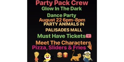 Party Pack Crew GLOW IN THE DARK DANCE PARTY