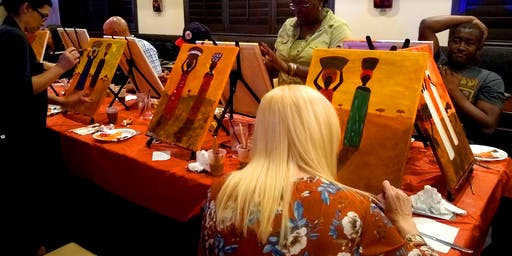 Join us to paint in a social setting. Feel like a kid again!