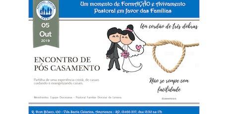 Formação - Encontro de Pós Casamento ingressos