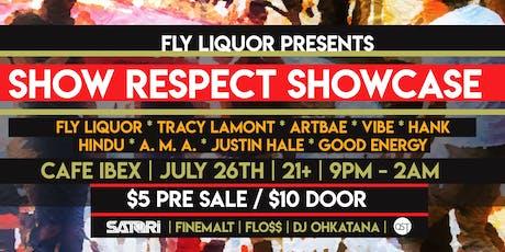 Show Respect Showcase tickets