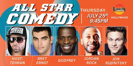 Godfrey, Bret Ernst, and - All-Star Comedy! tickets