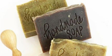 For the love of scent: cold process herbal soap making workshop tickets