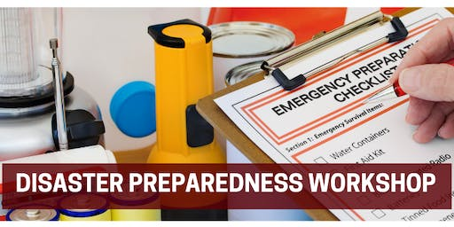 VCCDC HomeSmart Workshop - Disaster Preparedness