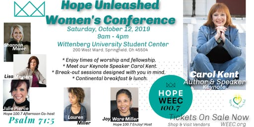 2019 Hope 100.7 ~Hope Unleashed Women's Conference