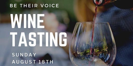 Be Their Voice Wine Tasting