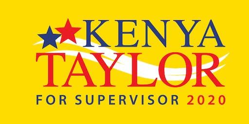Kenya Taylor Campaign Kick-Off Walk!