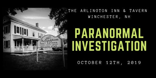 Paranormal Investigation @ The Arlington Inn & Tavern